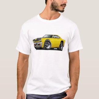 1969 Roadrunner Yellow-Black Hood Car T-Shirt