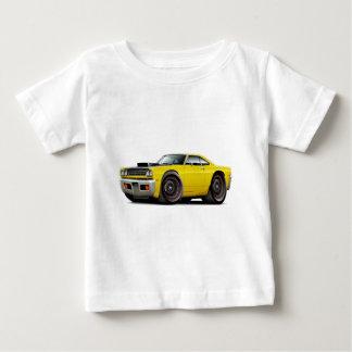 1969 Roadrunner Yellow-Black Hood Scoop Car T Shirt