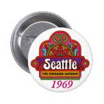 1969 Seattle CVB Pin