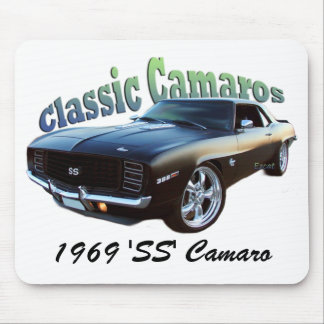 """1969 """"SS"""" Camaro Alfombrillas De Ratones"""
