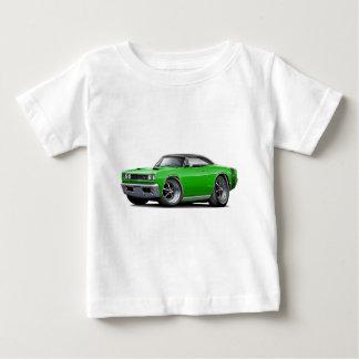 1969 Super Bee Green-Black Top Double Scoop Hood Infant T-shirt