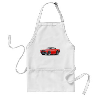 1969 Super Bee Red-Black Adult Apron