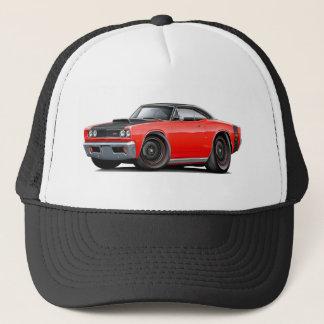 1969 Super Bee Red-Black Top Stock Wheels Trucker Hat