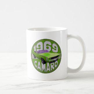 1969 Super Duper Sport Camaro Green Mugs