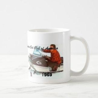 1969P, Arctic Cat Club of America, 1969 Classic White Coffee Mug