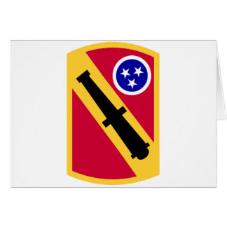 196 Field Artillery Brigade Greeting Card