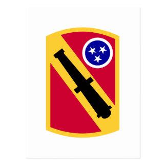 196 Field Artillery Brigade Postcard