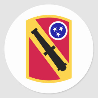 196 Field Artillery Brigade Classic Round Sticker