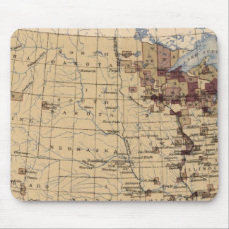 196 Value lumber, timber/sq mile Mouse Pad