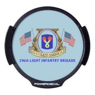 196o Etiqueta del poder de la brigada de Decal LED Para Ventana