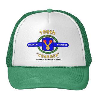 "196th Infantry Brigade ""Charger"" Vietnam Cap Trucker Hat"