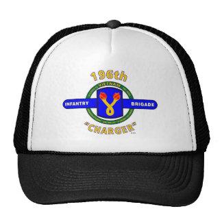 "196TH INFANTRY BRIGADE ""CHARGER"" VIETNAM TRUCKER HAT"