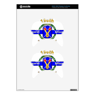 """196TH INFANTRY BRIGADE """"CHARGER"""" VIETNAM XBOX 360 CONTROLLER SKIN"""