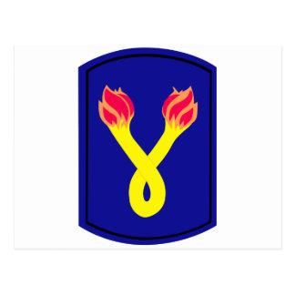 196th  Infantry Brigade Postcard