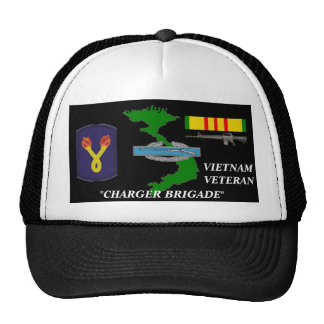 "196th Light Brigade""Charger Brigade""Ball Caps Trucker Hat"