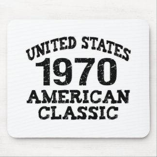 1970, 40th Birthday Mouse Pad