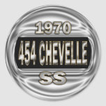 1970 454 Chevelle SS Stickers