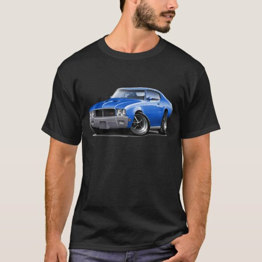 1970-72 Buick GS Blue Car T-Shirt