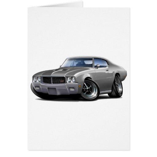 1970-72 Buick GS Grey Car Card