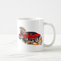 1970-72 Buick GS Red Car Coffee Mug