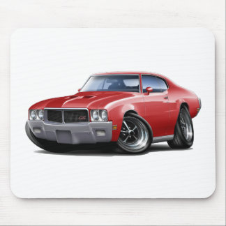 1970-72 Buick GS Red Car Mouse Pad