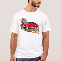 1970-72 Buick GS Red Car T-Shirt