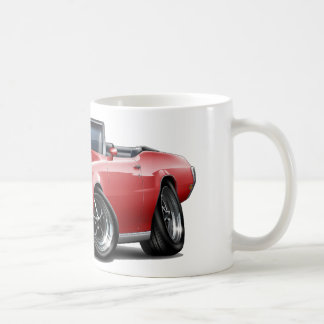1970-72 Buick GS Red Convertible Classic White Coffee Mug