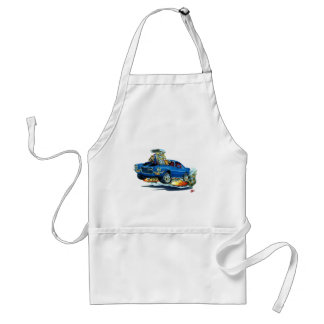 1970-72 Camaro Blue-Black Car Adult Apron