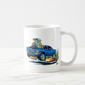 1970-72 Camaro Blue-Black Car Coffee Mug