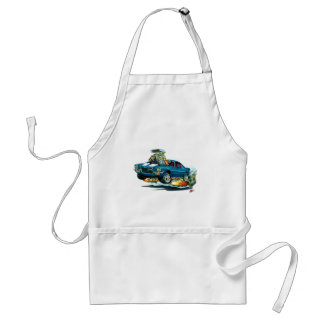 1970-72 Camaro Blue-White Car Adult Apron