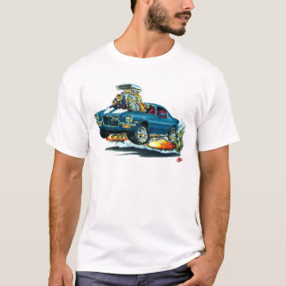 1970-72 Camaro Blue-White Car T-Shirt
