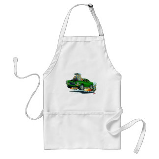 1970-72 Camaro Green-Black Car Adult Apron