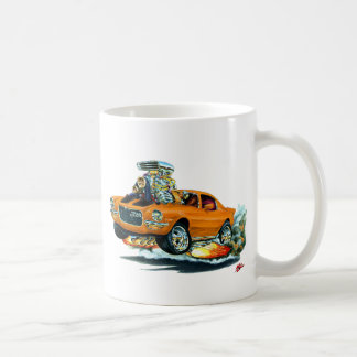 1970-72 Camaro Orange-Black Car Coffee Mug