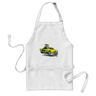 1970-72 Camaro Yellow-Black Car Adult Apron