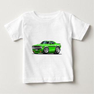 1970-72 Challenger Green Car Baby T-Shirt