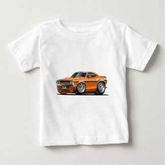 1970-72 Challenger Orange Car Baby T-Shirt