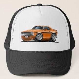 1970-72 Challenger Orange Car Trucker Hat