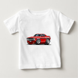 1970-72 Challenger Red Car Baby T-Shirt