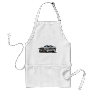 1970-72 Challenger Silver/Grey Car Adult Apron