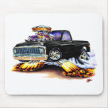 1970-72 Chevy C10 Black Longbed Mouse Pad