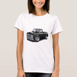 1970-72 Chevy C10 Black Truck T-Shirt