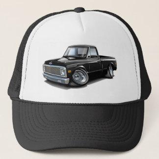 1970-72 Chevy C10 Black Truck Trucker Hat