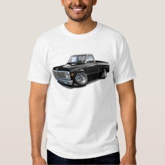 1970-72 Chevy C10 Black-White Top Truck Tee Shirt
