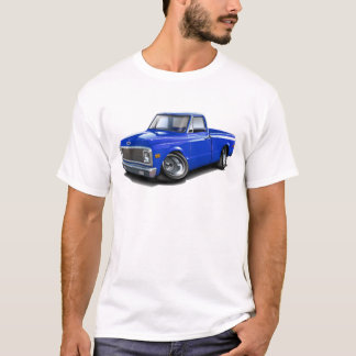1970-72 Chevy C10 Blue Truck T-Shirt