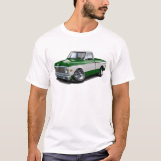 1970-72 Chevy C10 Green-White Truck T-Shirt