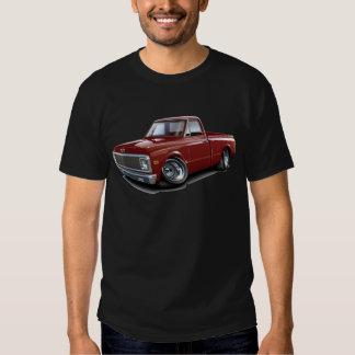 1970-72 Chevy C10 Maroon Truck Tee Shirt