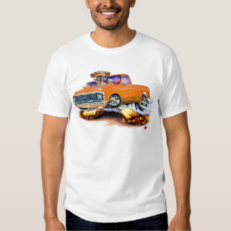 1970-72 Chevy C10 Orange Longbed T Shirt
