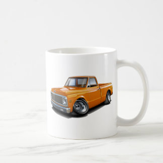 1970-72 Chevy C10 Orange Truck Coffee Mug