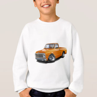 1970-72 Chevy C10 Orange Truck Sweatshirt