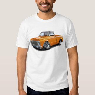 1970-72 Chevy C10 Orange-White Top Truck Tee Shirt